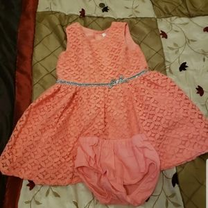 Special occasion lace 18m carters dress